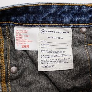 "Ag Adriano Goldschmied Jeans - ADRIANO GOLDSCHMIED ""THE ANGEL""  JEANS, SIZE 26"